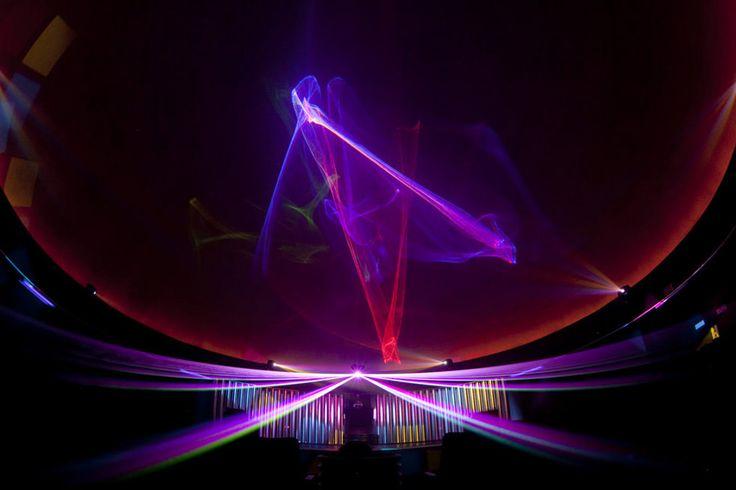 Natural Science Center Laser Show