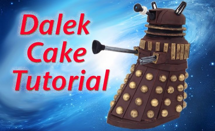 How to cook that - Doctor Who Dalek Cake http://www.youtube.com/watch?annotation_id=annotation_2041071205&feature=iv&list=PLPT0YU_0VLHyZy-4WYXBkfY6rbpOBP1Mx&src_vid=56yiUt36YOs&v=sdjb98DNB8s