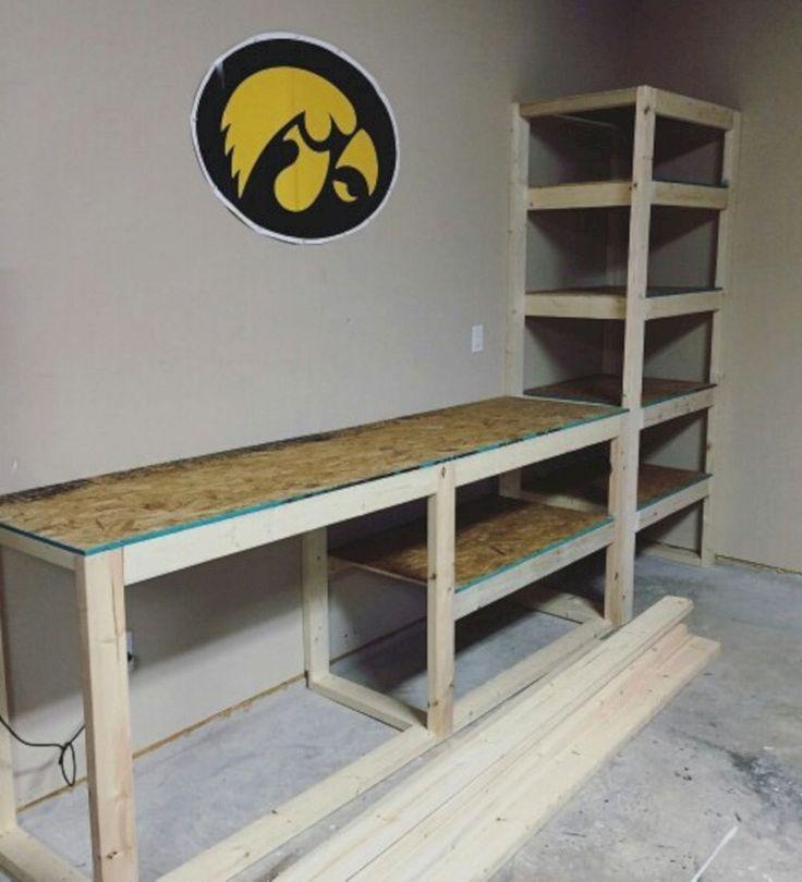Good Ideas About Garage Workbench No 2 – #Garage #…