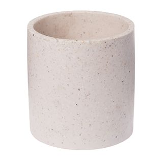 Zakkia terrazzo pot rose / blush pink interior design trend / pink styling vase / Large flower pot