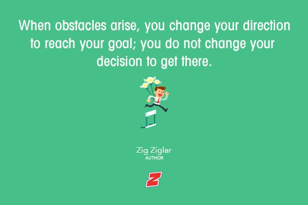 How do you handle obstacles or challenges?  #quotes #qotd