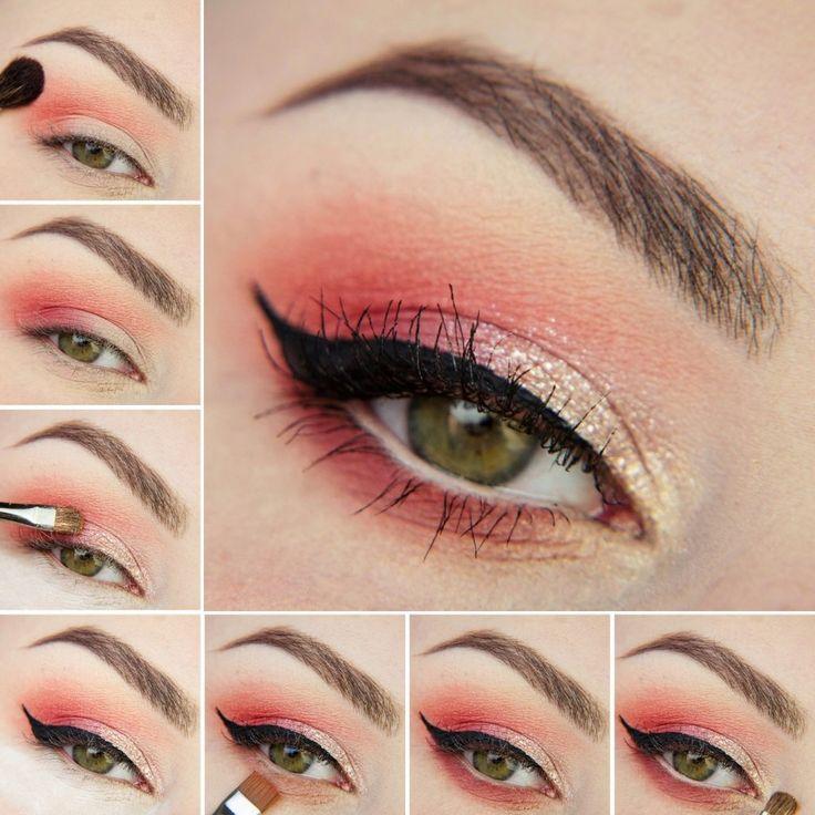 Idealny makijaż na wiosnę, który wykonacie przy użyciu cieni marki Makeup Revolution http://www.perfumesco.pl/m/makeup-revolution