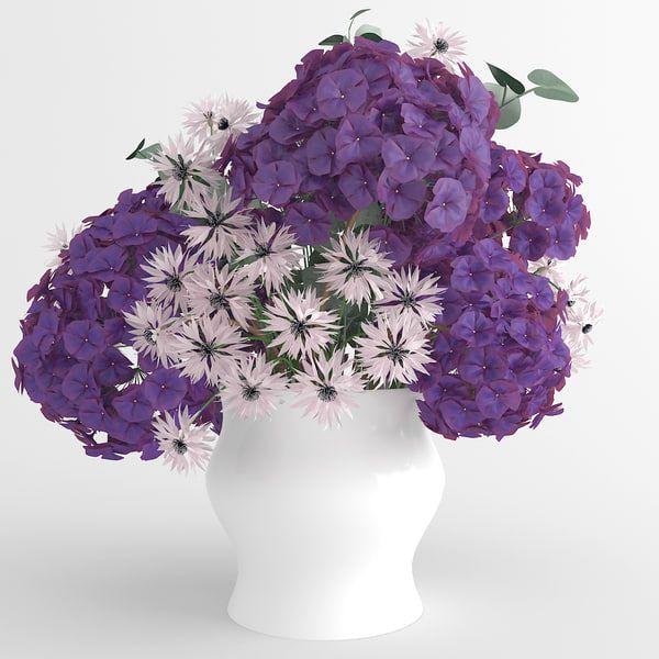https://www.turbosquid.com/3d-models/3d-bouquet-hydrangea-cornflowers-flowers-1172401