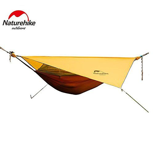 Naturehike High Strength Outdoor Travel Sleeping Hammock Hanging Bed With Mosquito Net and Sunshade