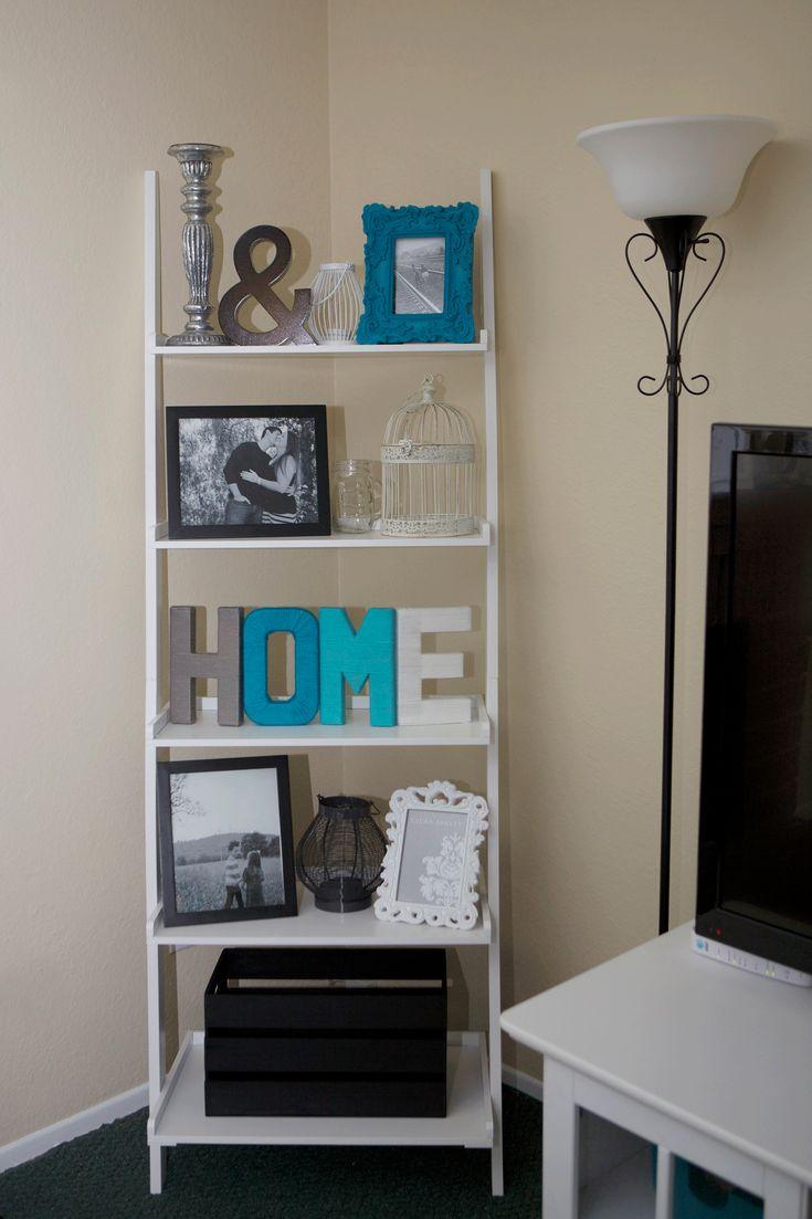 Top 25+ best Ladder shelf decor ideas on Pinterest   Ladder ...