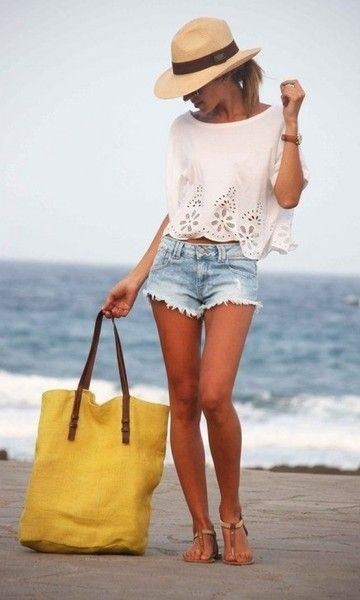 Look de Verão: Short + Rasteirinha