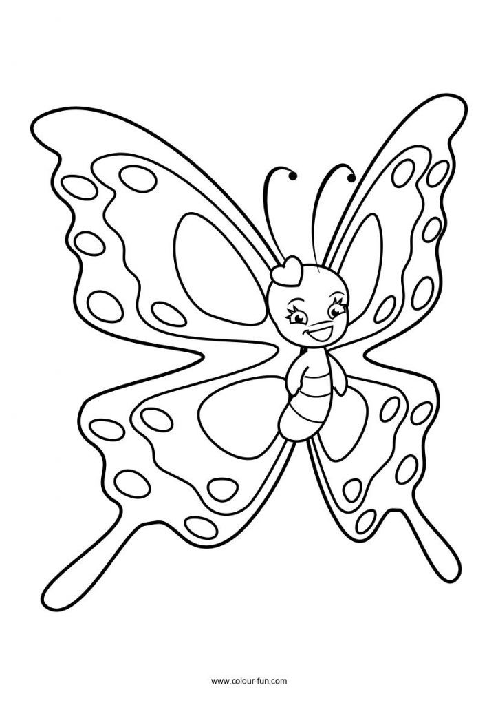 Free A4 Colouring Sheets Download With A Single Click Send To Print From Your Phone Without Worryi Butterfly Coloring Page Cute Coloring Pages Cute Butterfly