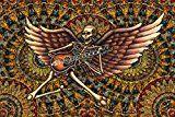 Tapestry Rock n Roll Skeleton by Dan Morris 26x40