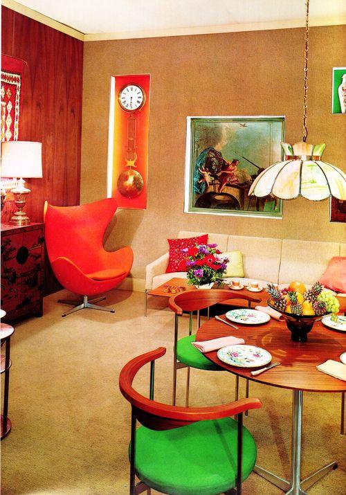 1965 living room design by Jose Wilson and Arthur Leaman.