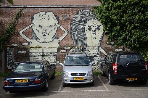 HeerlenMijnStad Heerlen mijn stad pimpen opkleuren muuschilderingen street wall art kunst kunstenaars graffiti gravity cultuur cultura nova 5 pleintjes opvrolijken love peace samenleving gemeenschap buurt wijken Parkstad Limburg Nederland