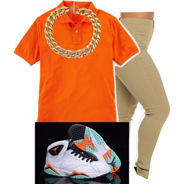 Air Jordan 7 Collection by trill-boss on Polyvore featuring Michael Kors