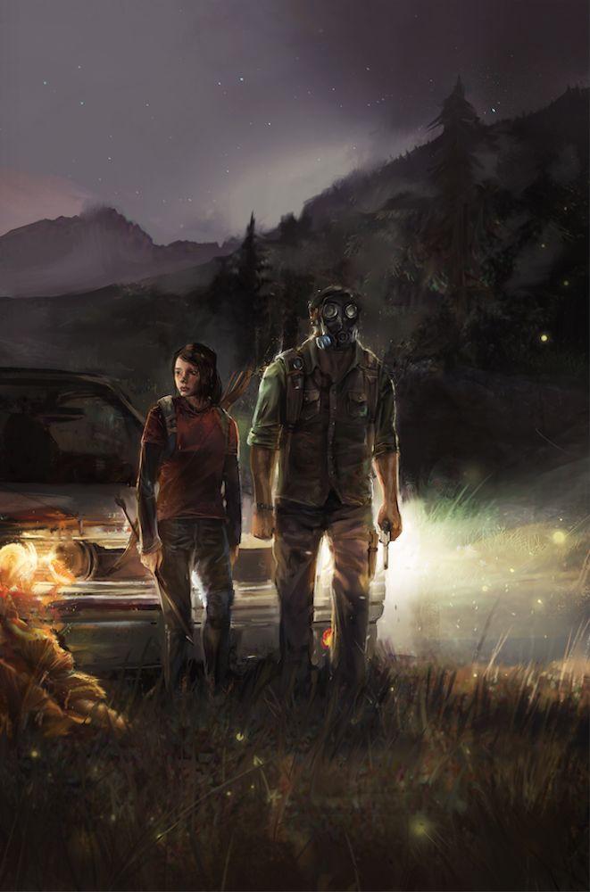 amazing fan art for The Last of Us