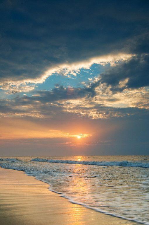 Sunrise in myrtle beach sc