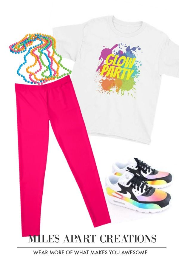 Glow Party Youth Short Sleeve T Shirt