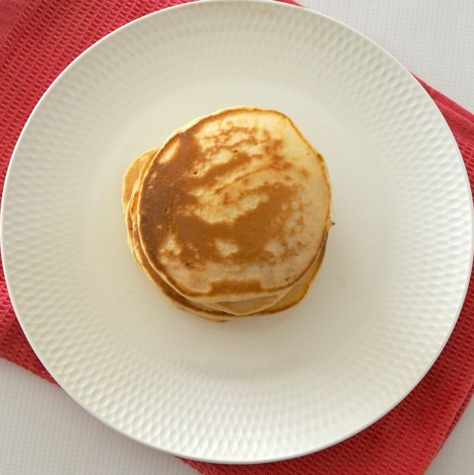 My family likes to mark ALL special occasions (including the weekend!) with pancakes for breakfast. These Thermomix Fluffy Pancakes are one of our favourite