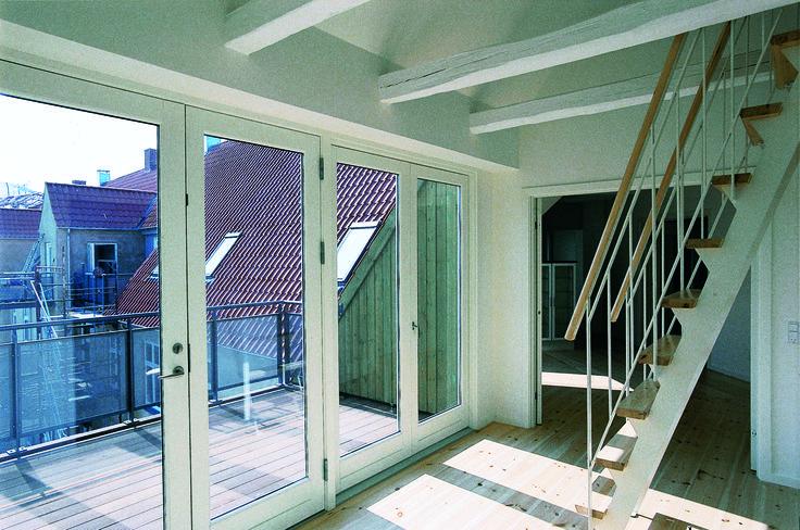 Lauritz Sørensens Gård, Frederiksberg. Altaner, renovering og ombygning af Pålsson Arkitekter.