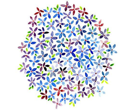 Lilac Flowers Printable - Etsy - Little Pond Prints