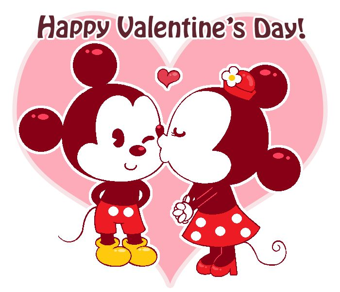 Valentines Day Wallpaper: A Mickey And Minnie Valentine By Kiss-the-Iconist