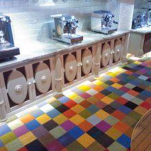 Monochrome Interface carpet tile at Havana Coffee Works Wellington