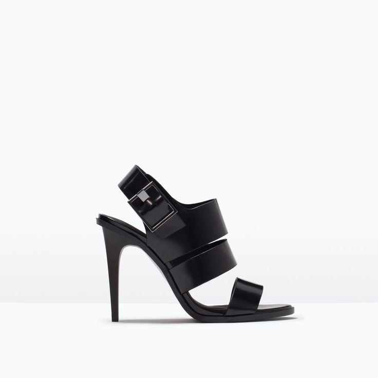TRF HIGH-HEEL SANDALS-Shoes-Woman-SHOES & BAGS | ZARA United States