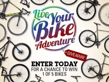 Performance Bicycle Live Your Bike Adventure Giveaway Sweepstakes
