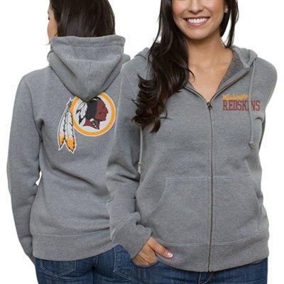 Washington Redskins Ladies Game Day Full Zip Hoodie
