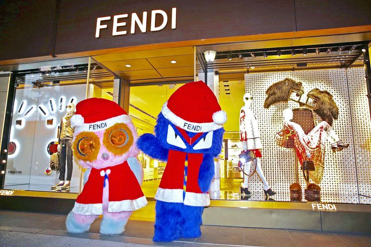 Fendirumi at the Fendi Gold party in the Osaka boutique.