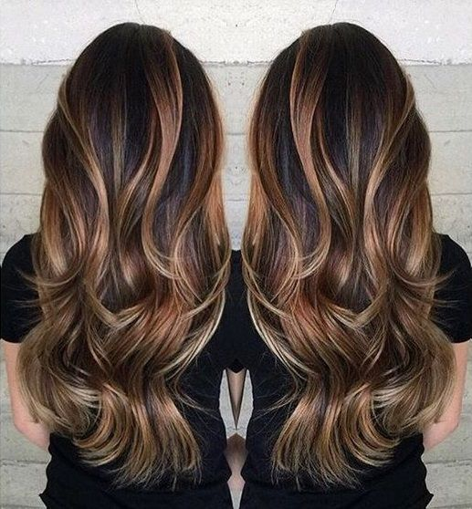 Best 20+ Long hair colors ideas on Pinterest | Baylage brunette ...