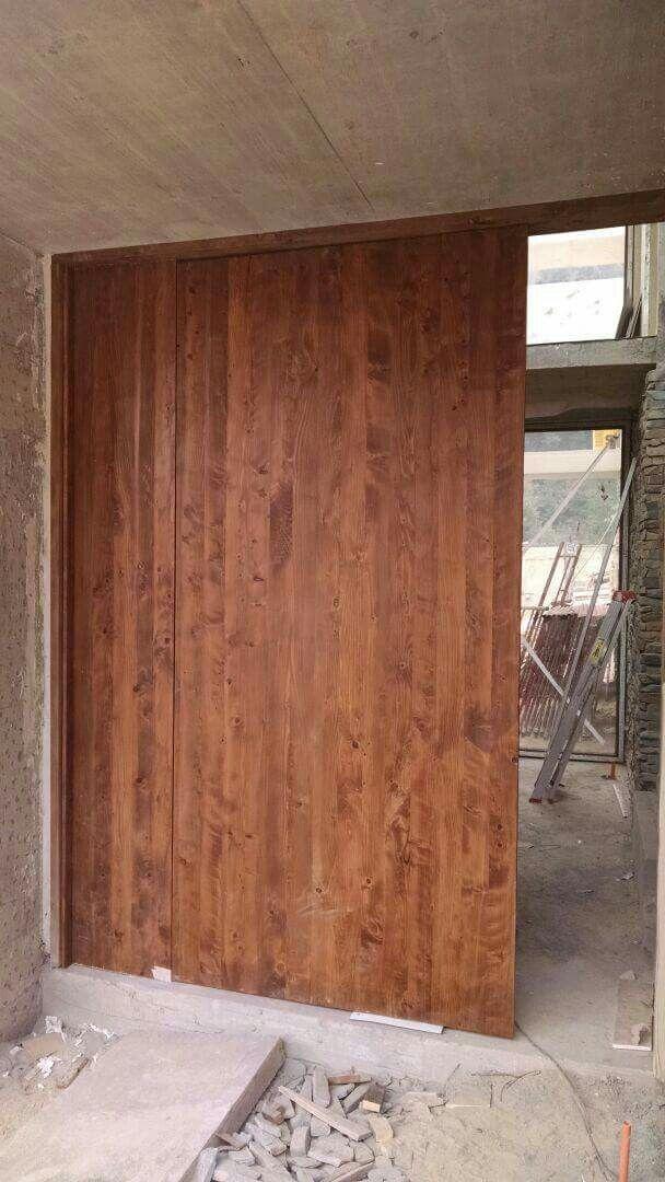 TerraMadera Puertas especiales a proyectos en madera solida  Concepcion - Chile