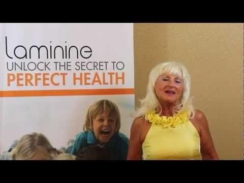 ▶ Laminine Endorsement - Irene S., U.S.A. - YouTube #Healthy #Skin #Hair #FeelGood