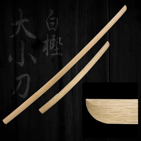 Japanese White Oak Bokuto Set : KENDO - Aoi Budogu