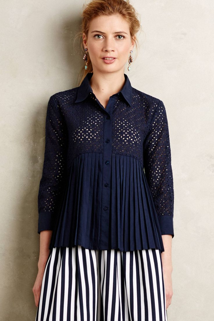 Shop the Eyelet Empire Blouse and more Anthropologie at Anthropologie today. Read customer reviews, discover product details and more.