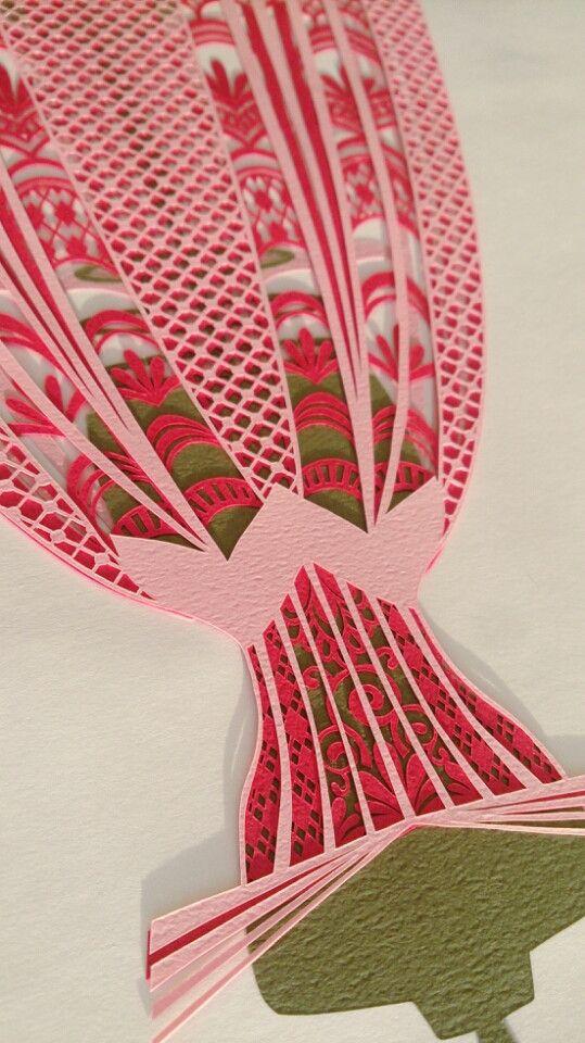 切り絵のドレス✨ディズニープリンセス 眠れる森の美女 の画像|コトコト切り絵中