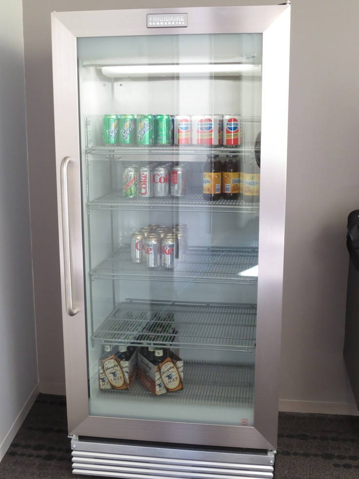 Frigidaire Commercial Grade Fridge With Glass Doors A