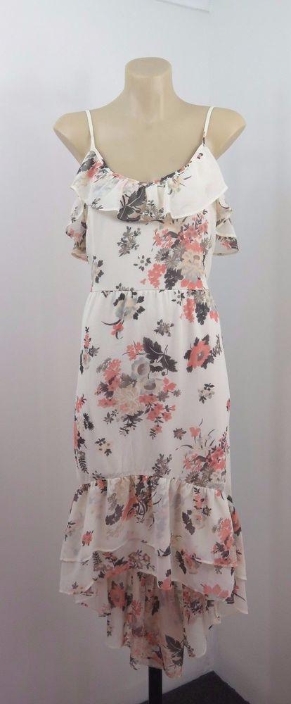Size M 12 Jeans West Ladies Sun Dress Boho Chic Feminine Peasant Casual Design #JeansWest #Sundress #Casual