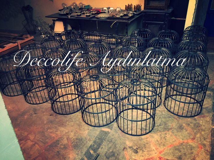 Deccolife Aydınlatma imalat Atölyesi-Özel tasarım avize ve aydınlatma ekipmanları imalatı yapılır Web: www.deccolife.com Tel   : 0530 304 78 48 #kuşkafesi #ankaraavize #imalat # architecture #tel avize #deccolife