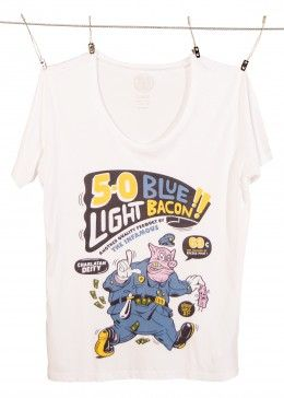 5-0 Blue Light Bacon