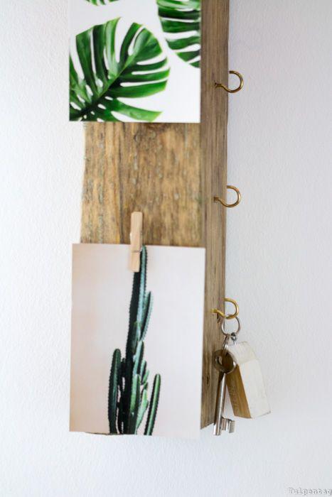 diy schl sselbrett aus treibholz blogger diy deko pinterest. Black Bedroom Furniture Sets. Home Design Ideas