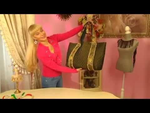сумка пакет - YouTube - I love how she does