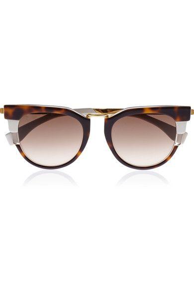 Fendi | Cat-eye acetate sunglasses | NET-A-PORTER.COM
