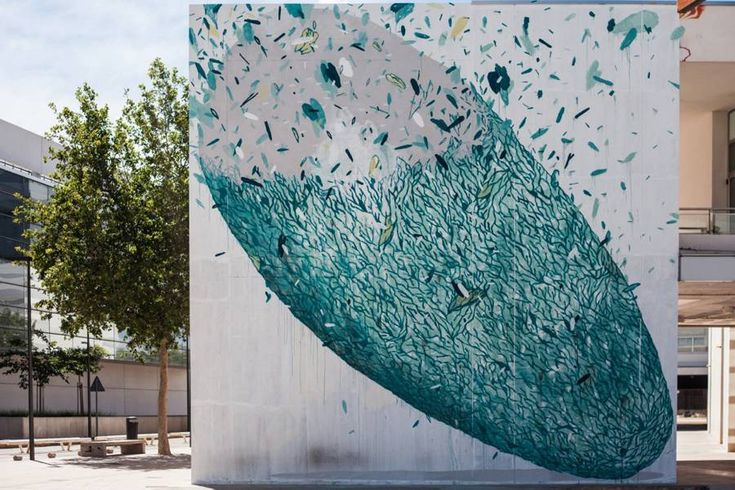 Amazing Abstract Street Art by Tellas – Fubiz Media #art #journal #inspiration www.agencyattorneys.com