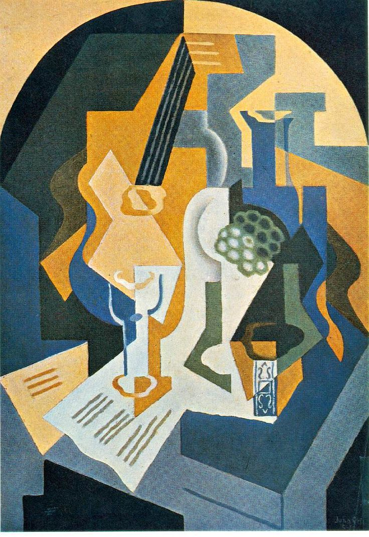Picasso Synthetic Cubism Paintings | Cubism & Picasso and he's relation with Cubism