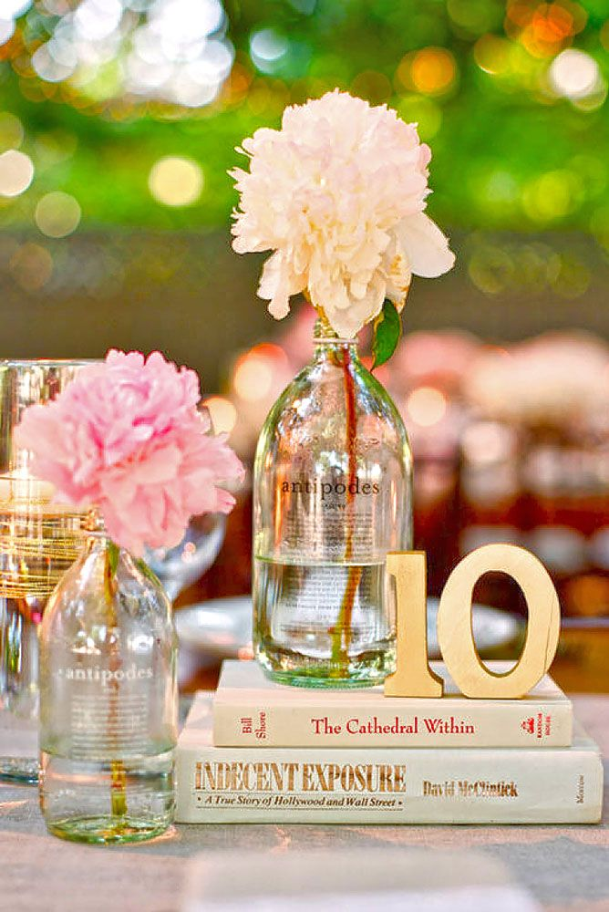 Non-Floral Wedding Centerpieces So Stunning, You Wont Miss Flowers ❤ See more: http://www.weddingforward.com/non-floral-wedding-centerpieces/ #weddings