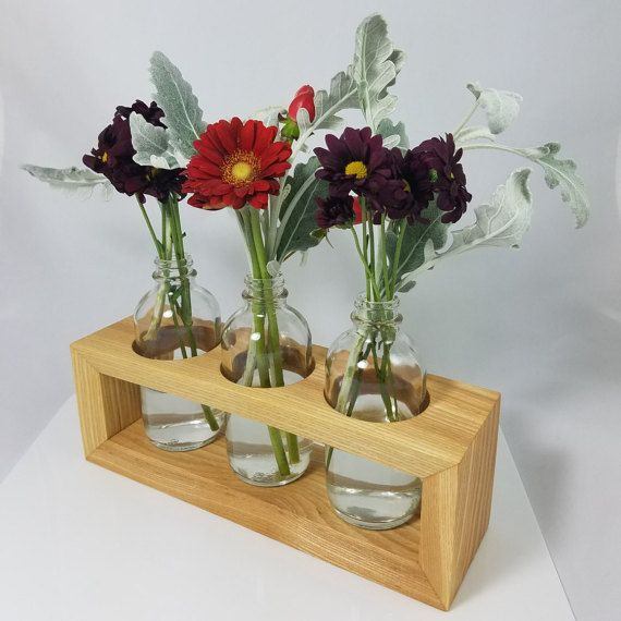 Best 25 vase centerpieces ideas on pinterest diy for Wood vases for centerpieces