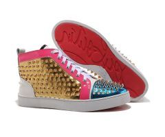 2012 New Style Best Cheap Christian Louboutin Louis Spikes High Top Mens Sneakers Blue Gold CODE: Christian Louboutin 2020 Price: $208.00 http://www.bestpricechristianlouboutin.com/2012-new-style-best-cheap-christian-louboutin-louis-spikes-high-top-mens-sneakers-blue-gold.html