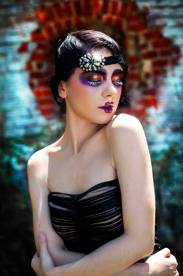 #BriaDesign #20s #makeup #theatrical