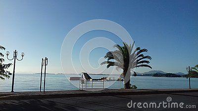 Citylife City Corfu Greece Palm Sea Blue Picture Beach Weather