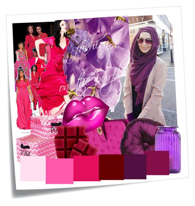 """""""fashion on the purple"""" by moetho-barbhatully on Polyvore featuring Post-It, Z Spoke by Zac Posen, Mulberry, Victoria's Secret PINK, Kosta Boda, Candle Warmers Etc. and Cost Plus World Market"""