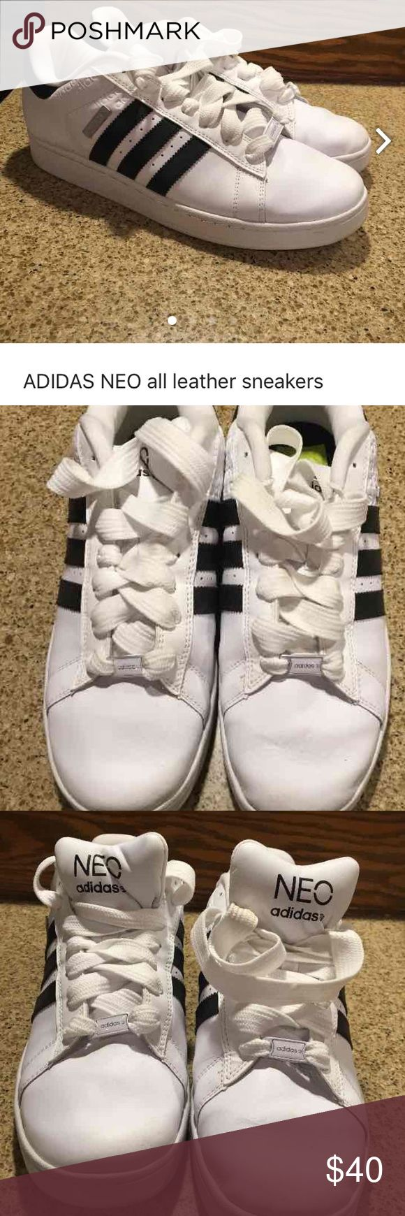 Adidas neo men's sneakers Like new.  Men's size 12 Adidas Shoes Athletic Shoes