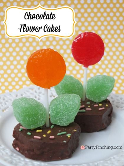 See how @partypinching created adorable treats from our spring snacks.